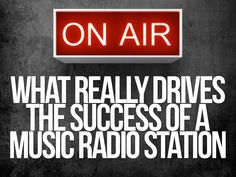 What really drives the success of a  music radio station by Sam Zniber via slideshare