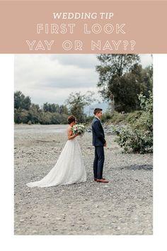 Wedding tip: first look yay or nay? Wedding Tips, Wedding Dresses, Fashion, Marriage Tips, Bride Dresses, Moda, Bridal Gowns, Fashion Styles