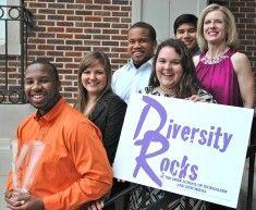"2011 Lantern Award Winner in Internal Communications Program Category, short-term:  Robin Street, APR  and University of Mississippi, Meek School of Journalism's ""Diversity Rocks"" Campaign."