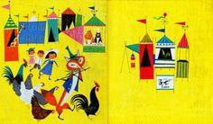 Animal Fair book illustration by Alice and Martin Provensen.