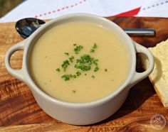 Easy Roasted Celeriac Soup - Fab Food 4 All Celeriac Recipes, Celeriac Soup, Cooking Bacon, Cooking Recipes, Cooking Brussel Sprouts, Bacon In The Oven, Recipe Finder, Roasted Garlic, Veggie Recipes