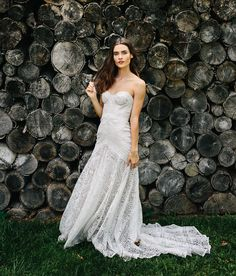 "Rue De Seine Bridal's ""Love Spell"" Collection shot by Chaz Cruz is perfect for the boho bride. Modeled by Dominique Spindler."