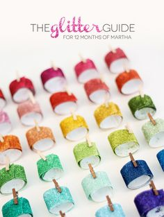 The Ultimate Glitter Guide with Martha Stewart Glitter & Glitter Tape Tutorial | Damask Love Blog