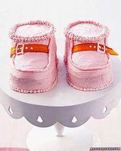 Baby Bootie Cakes - Martha Stewart Recipes