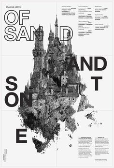Of Sand and Stone by StudioKxx Krzysztof Domaradzki, via Behance