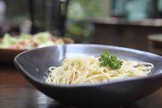 Carbonara vegan, la ricetta giusta con soia, farina di ceci e tofu