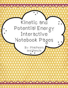 Kinetic and Potential Energy Interactive Notebook Reading Passages Printable Kinetic And Potential Energy, Kinetic Energy, Reading Passages, Interactive Notebooks, Roller Coaster, Teacher Newsletter, Larger, Printer, Classroom