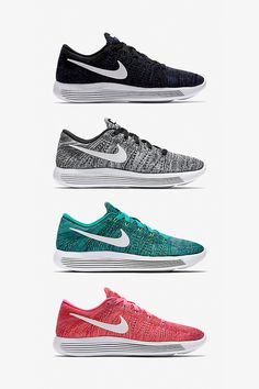 The LunarEpic Low Flyknit Women's Running Shoe has a sole that performs, an upper that stays comfortable and an all-around look that sets trends like it sets paces. Sport the look in Black, Grey, Clear Jade or Pink Blast.