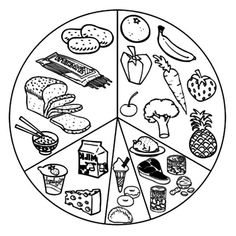 Cooking worksheets for preschoolers healthy eating coloring pages for preschool food printable foods nutrition worksheets preschoolers . Food Coloring Pages, Printable Coloring Pages, Free Coloring, Coloring Pages For Kids, Coloring Books, Kids Coloring, Coloring Sheets, Healthy Work Snacks, Healthy Meals For Kids