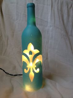 Tiffany Blue Fleur De Lis on Etsy, $32.00
