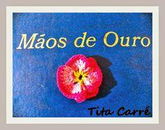 Flor rosa repolhuda em crochet