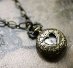 Alice in Wonderland - Love Lockdown Pocket Watch by robinhoodcoutour