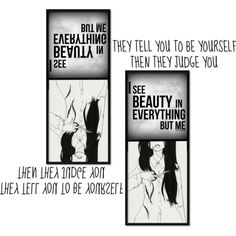 Blind To Thy Own Beauty~ by tabithahallows on Polyvore featuring art