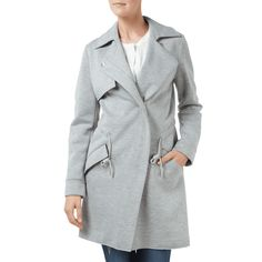 | #Marc #O´Polo #Pure #Damen #Trenchcoat aus #Sweat