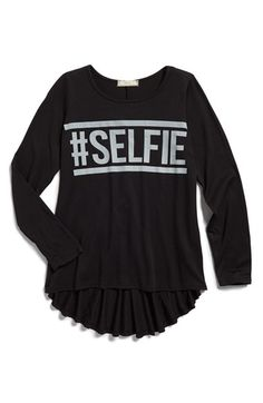 d801aabc588f1b Soprano High Low Long Sleeve Tee (Big Girls) available at  Nordstrom Sweater
