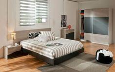 Ambiente #negro #dormitorio Emotion.