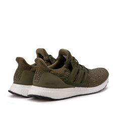 4eec7b8c62c NEW Adidas Ultra Boost 3.0 M Trace Olive Khaki Cargo Leather Cage White  S82018  adidas