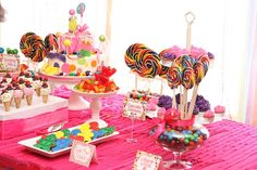 wreck it ralph candyland | Candy Land Themed Birthday Party