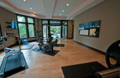 Contemporary Home Gym - Found on Zillow Digs. What do you think?
