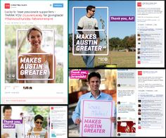 Social media campaign focused on thanking donors in an innovative way - Facebook & Twitter.