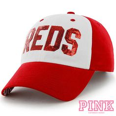 Cincinnati Reds Victoria's Secret PINK Women's Cheer Adjustable Cap