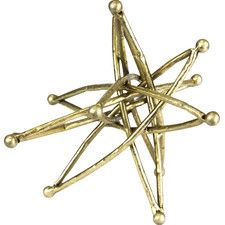 Metal Table Star Sculpture