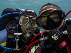 Peter and Shelley of Scuba Tech Diving Centre add their coupley Underwater Selfie to the Board.  What a pair of......? 10509576_907555145927866_8562566326928602513_n.jpg (960×720)