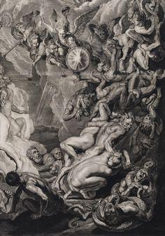 Laatste Oordeel, 1658 (detail) ~ by Cornelis Visscher…