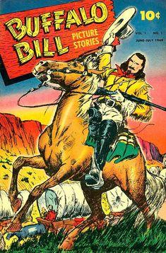 BUFFALO BILL - :: 70 ANOS DE GIBIS - Página Luis Peix - RJ -  Um dos maiores heróis do Velho Oeste.