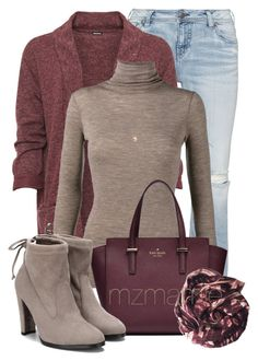 """Untitled #2807"" by mzmamie on Polyvore featuring Silver Jeans Co., WearAll, Vince, Dorothy Perkins and YM by Yakshi Malhotra"