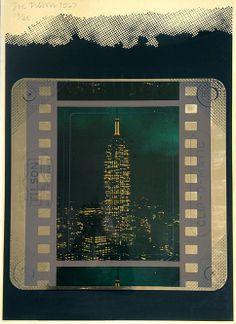 Joe Tilson: Clip-O-Matic Empire State Building (1967) Print for Sale | modernprints.co.uk