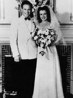 Marilyn Monroe and James Dougherty wedding
