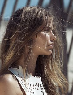 Here Comes The Sun: #KirstinKraghLiljegren by #DavidFerrua for #Mixte #12 Summer 2015