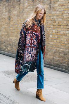Street style à la Fashion Week automne-hiver 2017-2018 de Londres : Jennifer Neyt