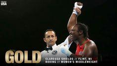 BACK 🏅🏅 BACK  #GOLD FOR Claressa Shields‼️