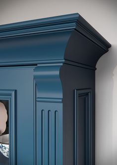 Каталог кухонь | BRISTOL BLUE | Кухни VIRS Bristol, Tall Cabinet Storage, Places To Visit, Kitchen, Blue, Furniture, Home Decor, Cooking, Homemade Home Decor