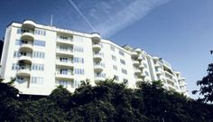 Klintegaarden in Aarhus, Denmark, built in 1938. Heavily inspired by Bauhaus and Le Corbusier.