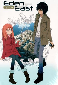 Eden of the East Anime Ger-Dub