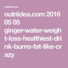 nutriidea.com 2016 05 05 ginger-water-weight-loss-healthiest-drink-burns-fat-like-crazy