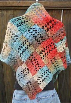 Felicity Crochet Shawl  $ 1,99 Pattern