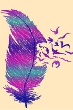 Resultado de imagen para feathers tumblr background