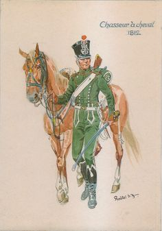 French; 23rd Chasseurs a Cheval, 1812