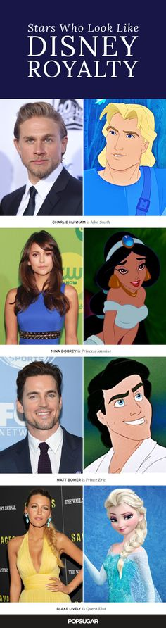 Check out these stars who look like Disney royalty!