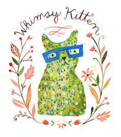kitten whimsy katie daisy