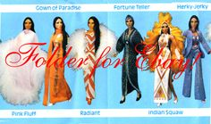 Mego Outfits 1970's