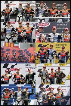 10 motoGP 2012 Podium