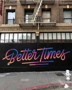 "6,580 Likes, 18 Comments - Design Milk (@designmilk) on Instagram: ""TGIF! What's ahead? 👆🏻 #streetart #mural by @itsaliving"""