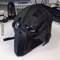 Airsoft hub is a social network that connects people with a passion for airsoft. Talk about the latest airsoft guns, tactical gear or simply share with others on this network Helmet Design, Mask Design, Ps Wallpaper, Tactical Helmet, Helmet Armor, Custom Motorcycle Helmets, Women Motorcycle, Futuristic Armour, Airsoft Helmet