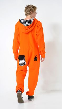 Convict back jumpsuit