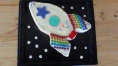 Rocketship Cake from Space Party 2012                                                                                                                                                                                 Más